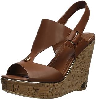 9954958eee32cd GUESS Women s Hulda Wedge Sandal