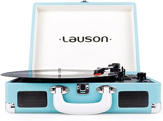 Lauson Cl604 Schallplattenspieler Koffer Bluetooth Elektronik