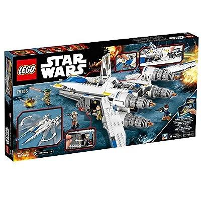 LEGO Star Wars Rebel U-Wing Fighter 75155 Star Wars Toy: Toys & Games