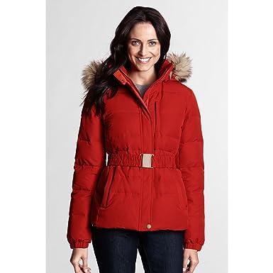 19dc454fd8b0 Amazon.com: Lands' End Women's Regular Modern Down Jacket, XS ...