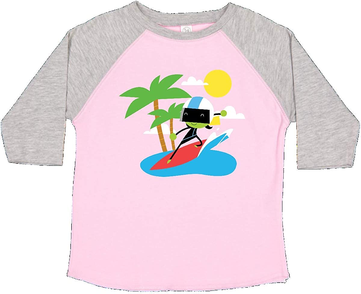 PBS Kids inktastic Dee Surfing Toddler T-Shirt