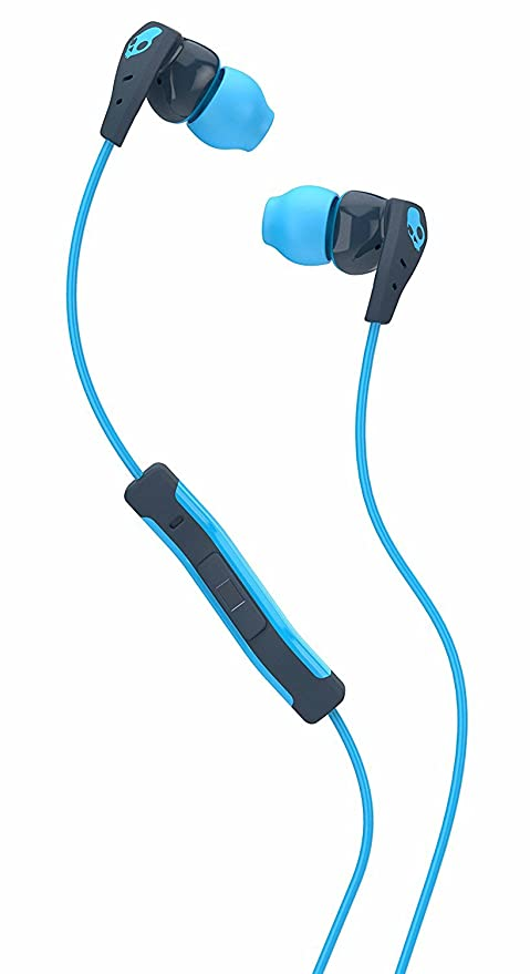207c847adfe Skullcandy Method Sweat Resistant Sport Earbud with In-Line Microphone and  Remote, Lightweight and