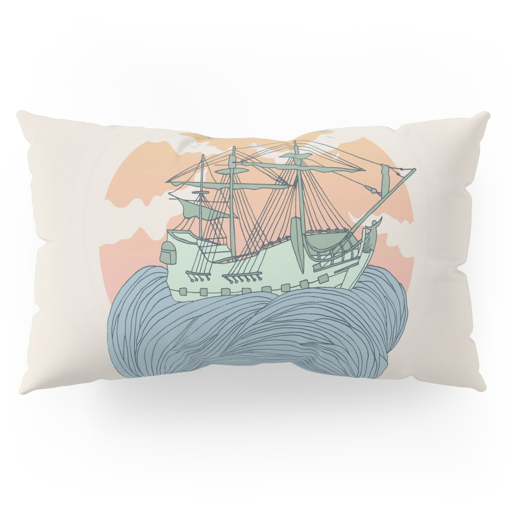 Society6 Mother Nature Pillow Sham King (20'' x 36'') Set of 2