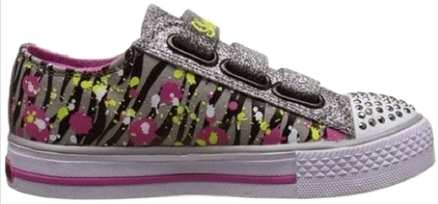 Skechers Girls Twinkle Toes Shuffles - Glitter N Glitz; Light Up, Sparkly  and Glittering Detail, Casual/Fashion Velcro Fastening Trainers with  Cushioned ...