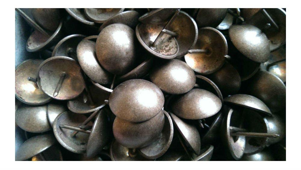 1''Dia Natural Dark Nails Upholstery Tacks Decorative Nail- 25- 50-100-250 (25 pcs) by Unknown (Image #3)