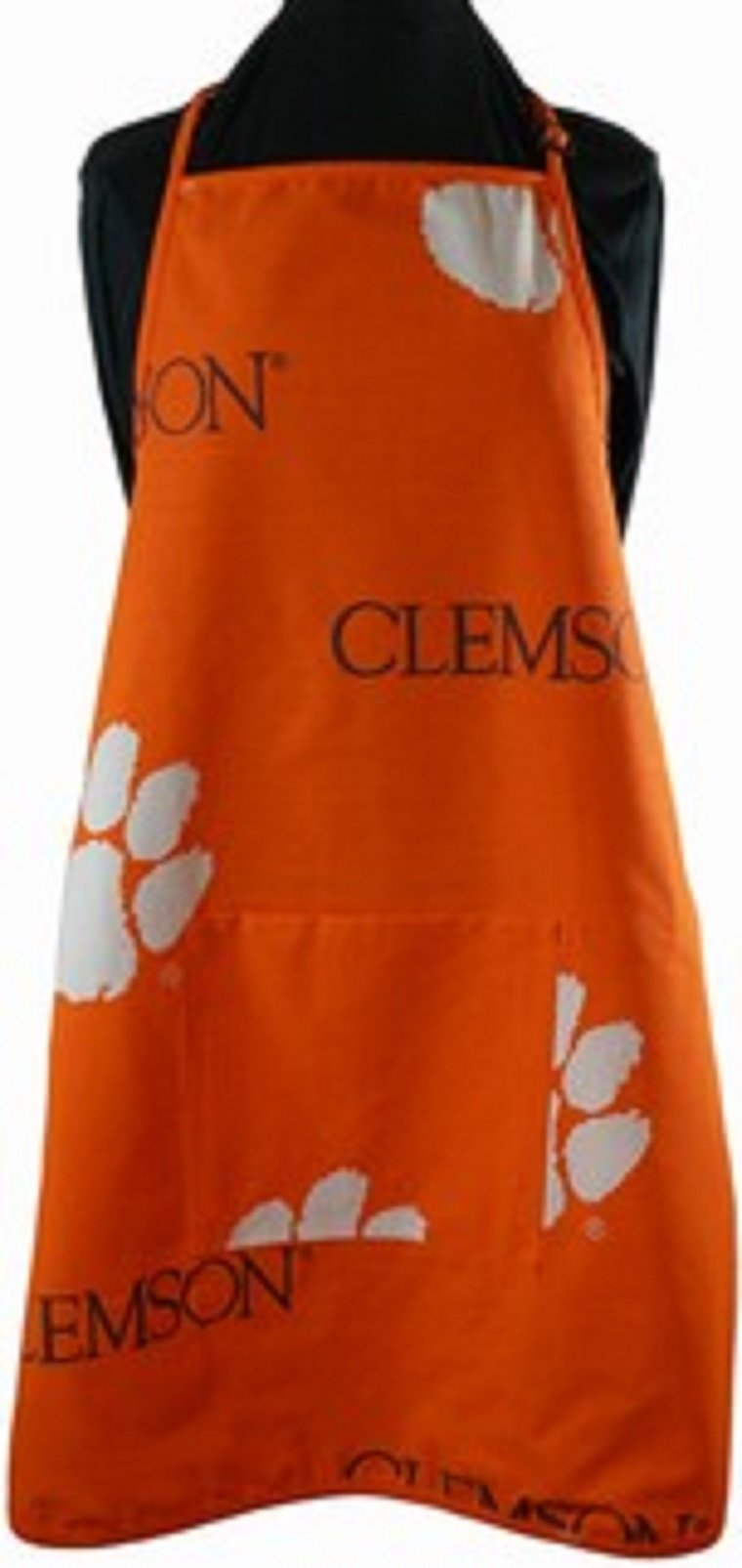 Clemson Tigers Grilling Apron and Set of (12) - Clemson Tigers Placemats w/ Border - Great for the Kitchen, or that Next Picnic or Tailgate Party! - Save Big By Bundling! -