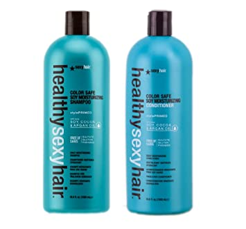 Healthy sexy hair shampoo review