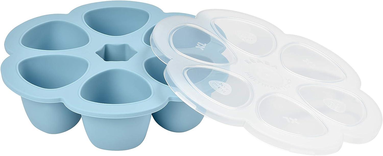 6 x 90 ml Beaba 912595 Recipiente multiporzioni in silicone colore Rosa