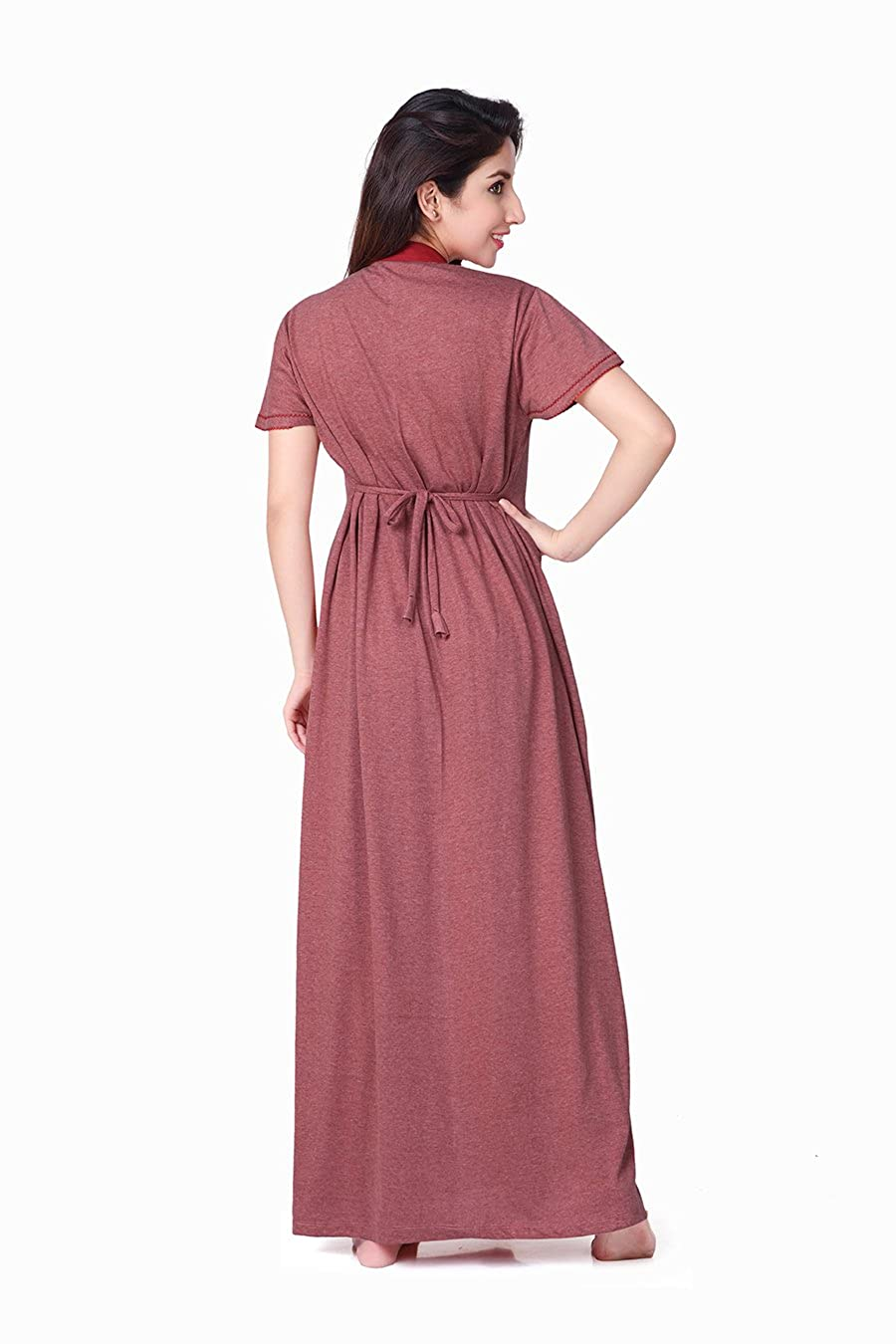 9884820249 HoneyDew CORAL WOMENS NIGHTY FREE SIZE POPPY GJ  Amazon.in  Clothing    Accessories