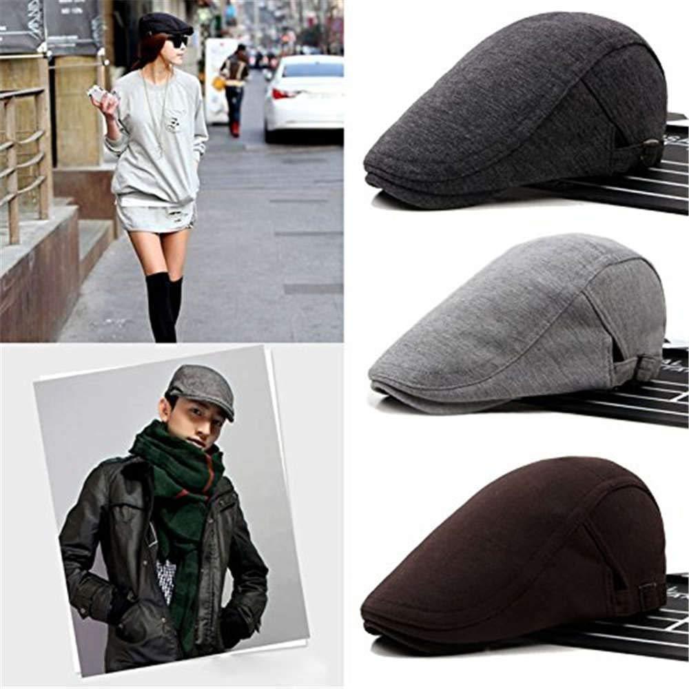 Salt/&Seas Men?s Newsboy Gatsby Cabbie Hats Cotton Adjustable Driving Winter Hat