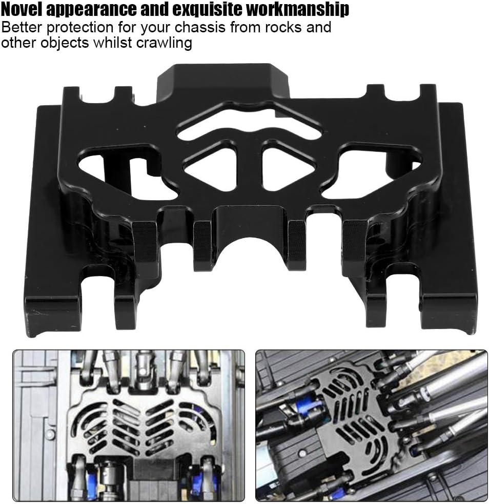 RC Protector de Chasis, Chasis Medio de la Caja de Engranajes de la Aleación de Aluminio Parte de Actualización RC para TRAXXAS TRX4 Land Rover ...