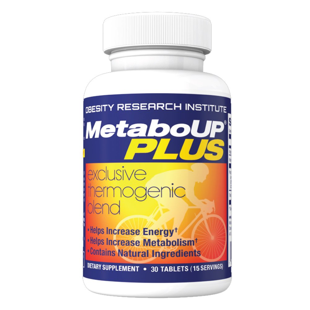Lipozene MetaboUP Plus - Metabolism and Energy Booster - No Jitters No Crash - Supports Weight Loss - Caffeine Pills - 30 Capsules
