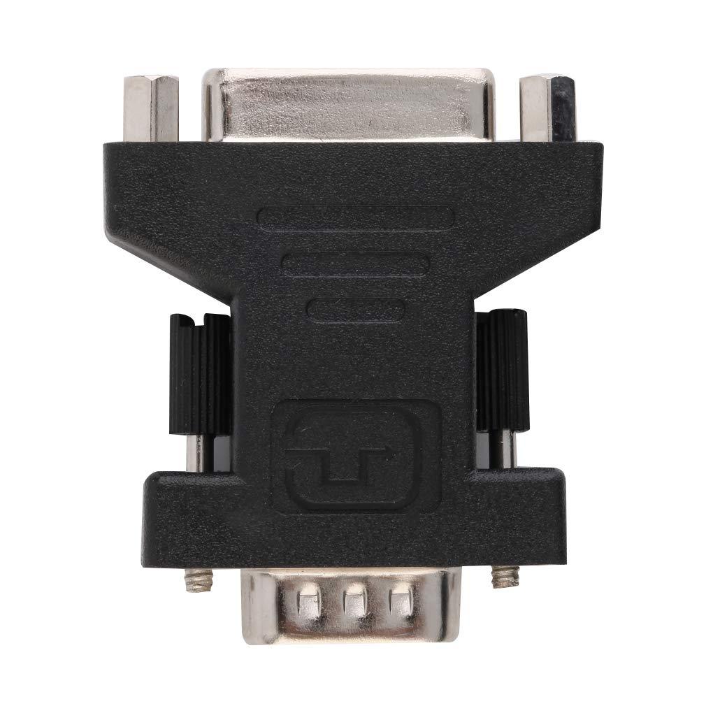 24 + 5 Dual Link Hembra a VGA 15 Convertidor Adaptador Monitor Macho para HDTV DVI