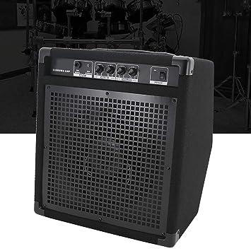 MUSIC Musical Instrument accessories Batería eléctrica AMP Amplificador portátil Batería electrónica Altavoz Monitor Personal Altavoz para Guitarra ...