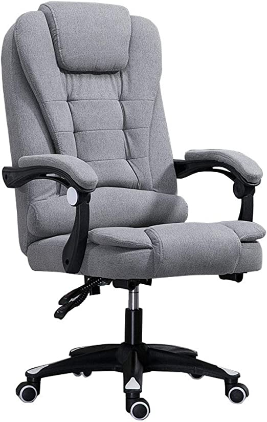 Executive Office Chair Comfort Computer Chrome  Mesh Chair 360