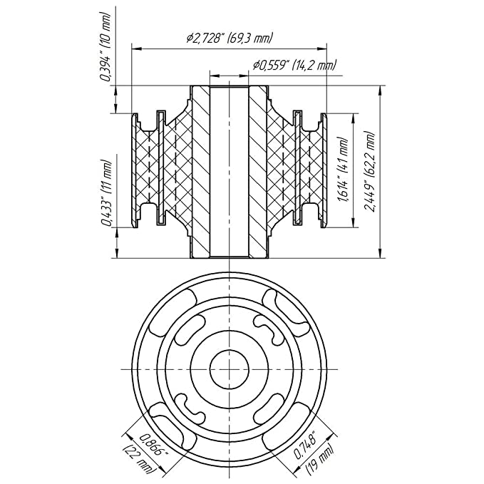 j10 pickup best place to find wiring and datasheet resources 1977 Jeep J10 Hon Cho amazon 1332 arm bushing for rear suspension control arm oem 55501jg000 1966 jeep cj5 wiring diagram