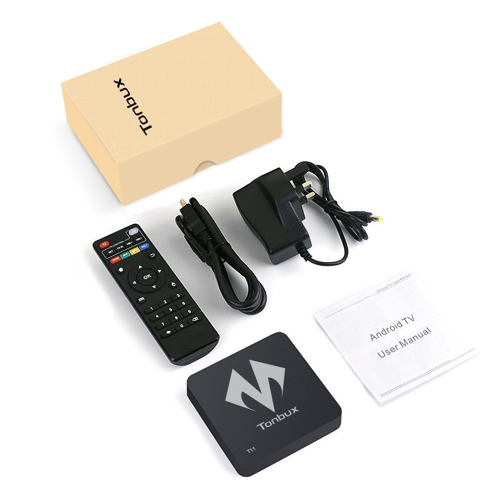Android TV Box 4K Ultra HD Android 6 0 Marshmallow OS TV Box Tonbux® T11  Amlogic S905X Quad Core Streaming Media Player DDR3 WiFi