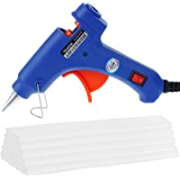 Vastar 20-watt Hot Glue Gun with 30 Glue Sticks (Blue)