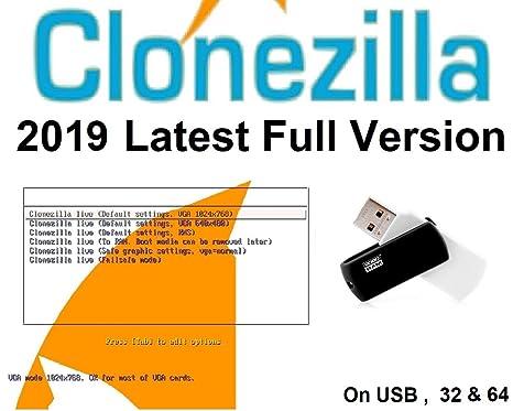 Clonezilla: Windows Backup and Recovery Software on USB: Amazon co
