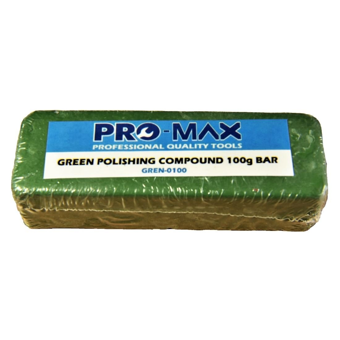 Pro-Max 100g Bar Green Steel & Stainless Steel Metal Polishing Buffing Compound Pro-Max Quality Tools & Accessories