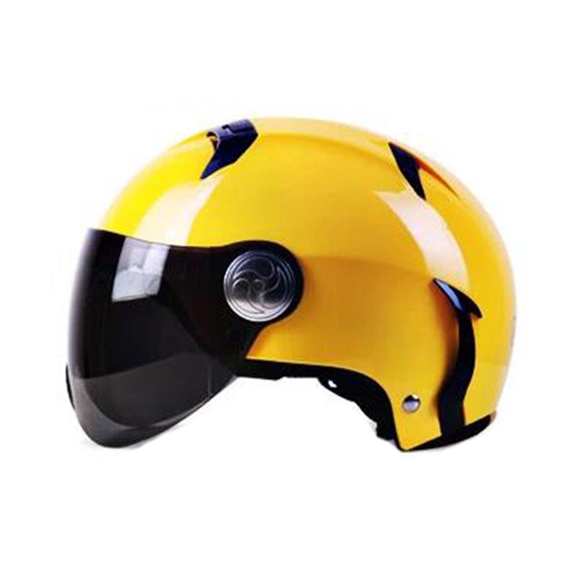 TZQ Erwachsener Safe Road Mann Dame Outdoors Mountain Bike Motorrad Halber Helm City Scooter Helm