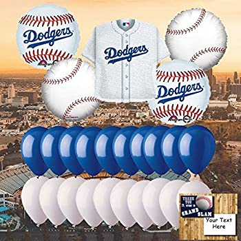 Sports and tailgating mlb party los angeles for Balloon decoration los angeles
