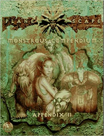 Monstrous Compendium Appendix II Cover