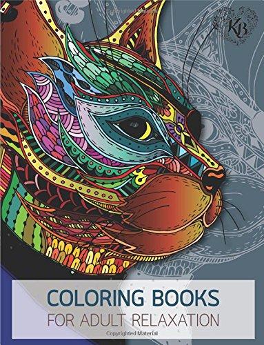 Magnificent Design Cat Anti Stress Adults Coloring Book: Anti stress Adults Coloring Book to Bring You Back to Calm & Mindfulness ebook