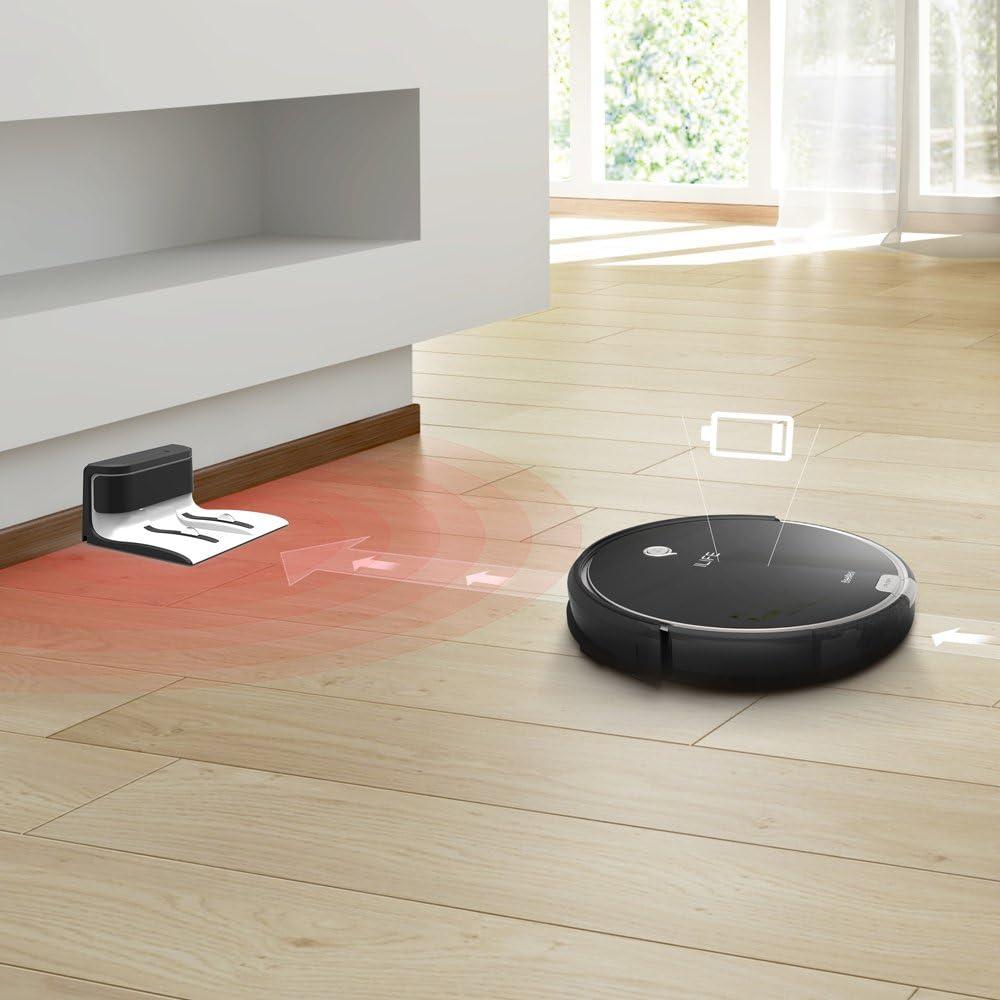 ILIFE A6 Robot aspirador con la succión fuerte, robot de limpieza ...