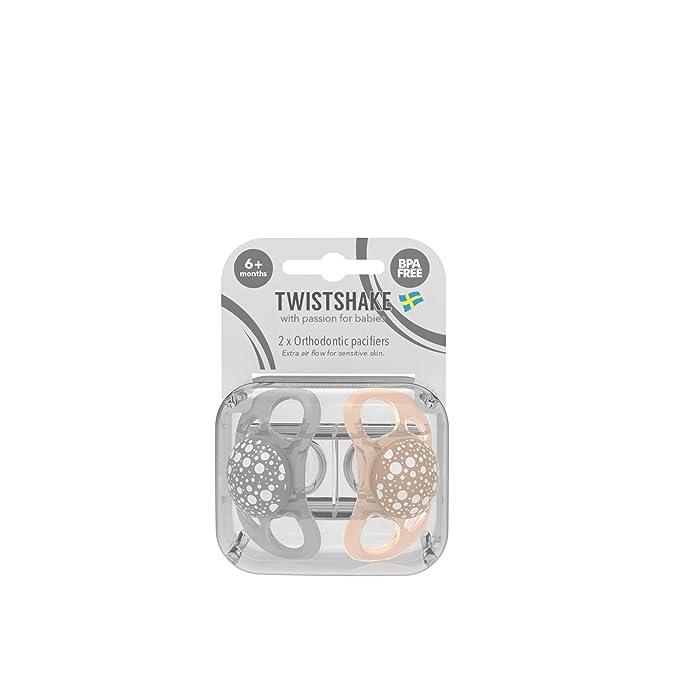 Twistshake 78287 - Chupete, color pastel gris beige: Amazon ...
