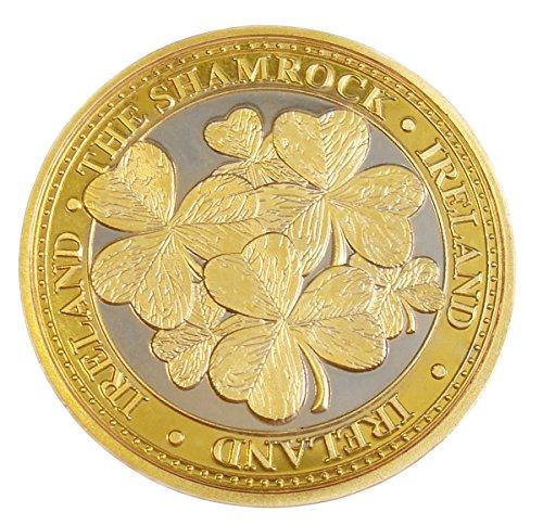 St. Patrick's Day Collectors Edition Shamrock Leaves Design Token