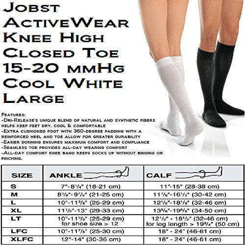 Jobst Men's / Women's Active Wear Moderate Support Over-the-