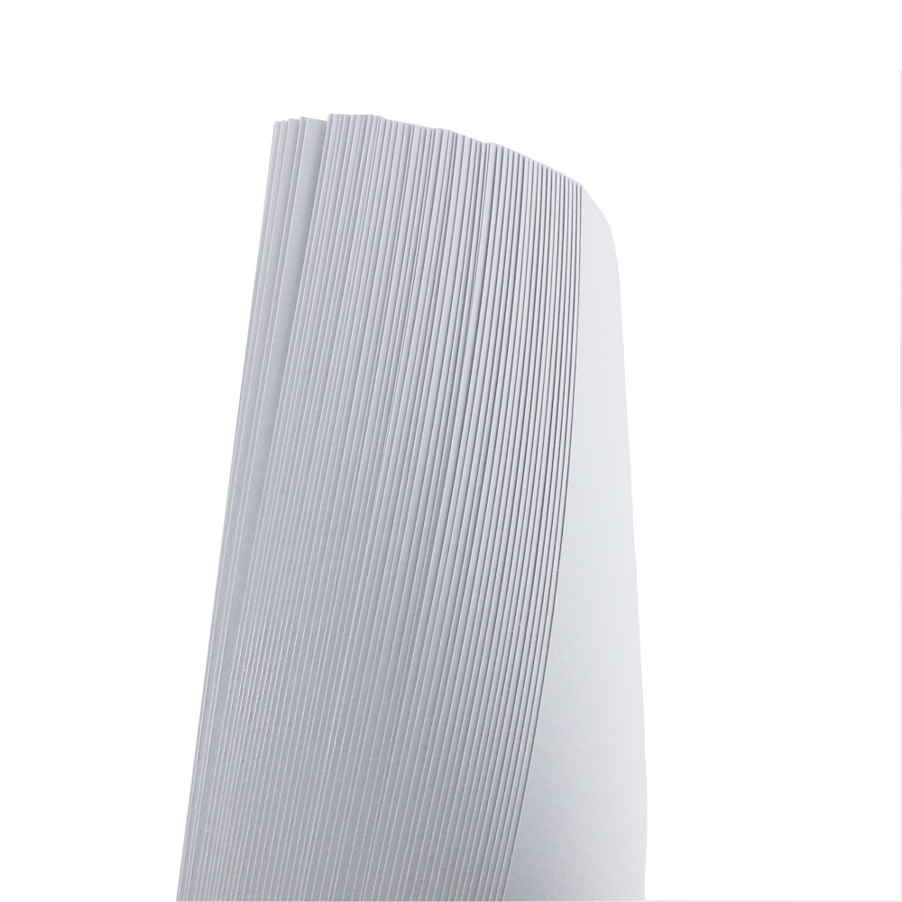 10 x 7 Inch 12 x 8 INCH 100Sheets Newbested White Watercolor Paper Cold Press Cut Bulk Pack for Beginning Artists or Students.