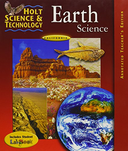 Holt Science and Technology Earth Science California Teacher Edition