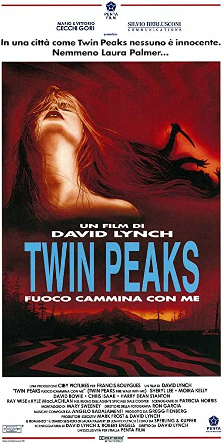 Amazon.com: Pop Culture Graphics Twin Peaks: Fire Walk with Me Poster Movie  Italian 11x17 Kyle MacLachlan Sheryl Lee Moira Kelly: Prints: Posters &  Prints