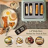 BUYDEEM DT-6B83 4-Slice Toaster, Extra Wide