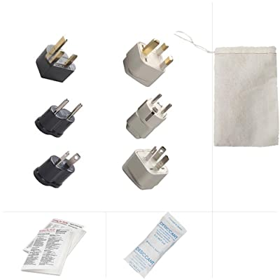 Going In Style China Complete Travel Adapter Kit B C D GUB GUC GUD