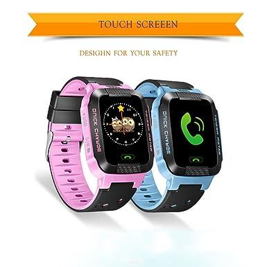 wanhuixing Y21 niños de relojes inteligente con pantalla táctil y alta definición fotos Teniendo con GPS