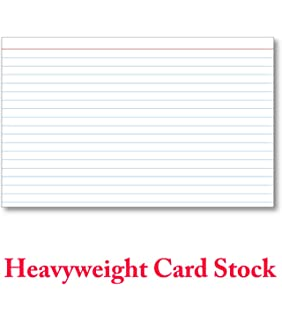 100 Color Index Cards Blank Cardstock Plain Unruled Colored