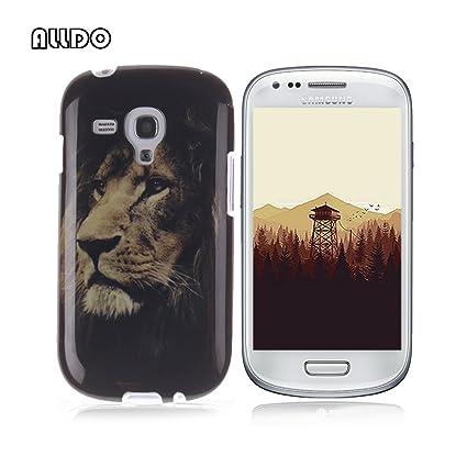 AllDo Soft Case for Samsung Galaxy S3 Mini i8190 TPU Silicone Case Ultra  Thin Slim Cover Flexible Smooth Phone Skin Lightweight Protective Bumper -
