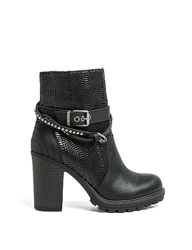 Replay, Damen Stiefel & Stiefeletten schwarz schwarz One