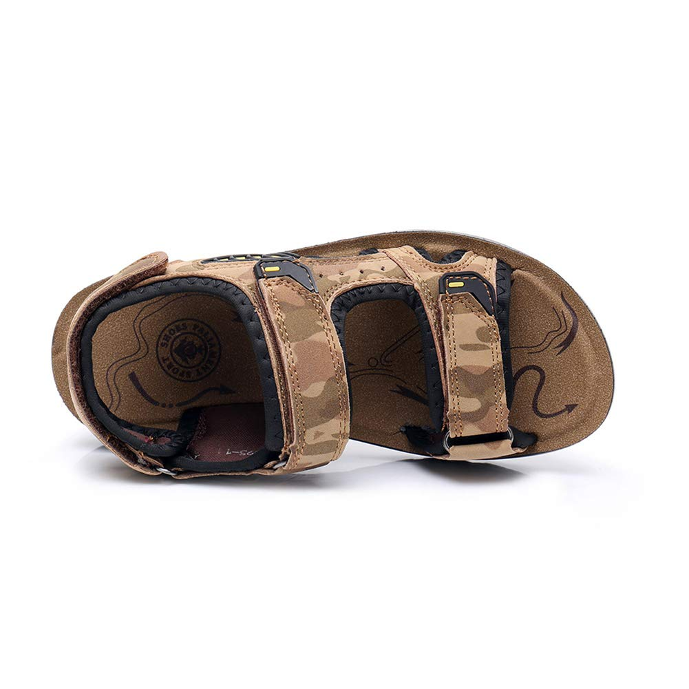 Tuoup Athletic Leather Summer Anti-Skid Beach Hiking Boys Sandals
