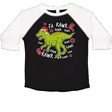a7881bb5a inktastic - T-Rex Singing Christmas Toddler T-Shirt 2T Black and White 2e07e
