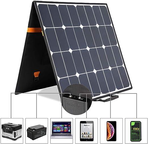 Amazon.com: KINGSOLAR 100 W 18 V 12 V portátil plegable ...