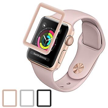 Protector marca AMOVO de pantalla para reloj apple (serie 3/ serie 2),