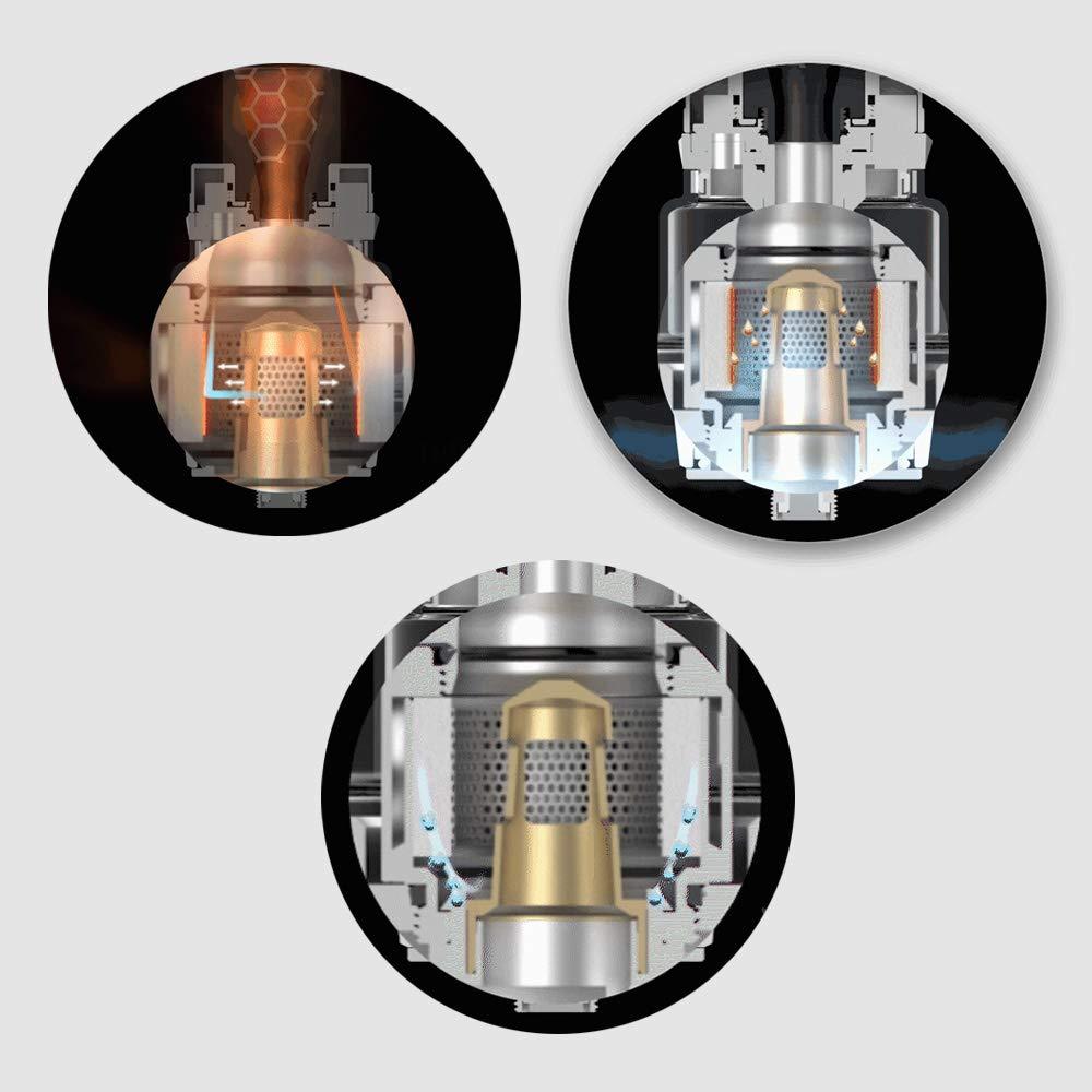 Auténtico Vaporesso Luxe Kit ,Cigarrillo Electrónico Vaping Kit 220W Box Mod Atomizador SKRR 8ml Tank E-Cig Vapor - Sin Nicotina y Sin E-líquido (Mono ...