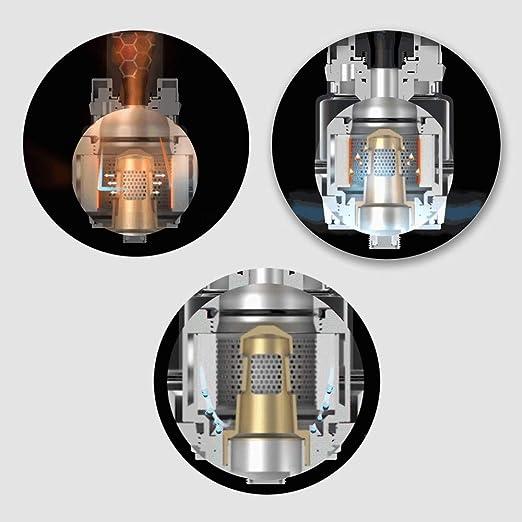 Auténtico Vaporesso Luxe Kit ,Cigarrillo Electrónico Vaping Kit 220W Box Mod Atomizador SKRR 8ml Tank E-Cig Vapor - Sin Nicotina y Sin E-líquido (Negro): ...