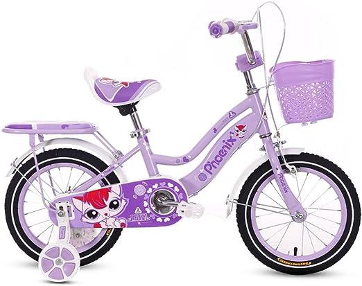 Fenfen Bicicletas para Niños 3-5-6 Años Cochecito para Bebés 14/16 ...