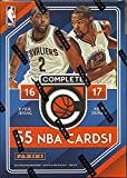 2016 2017 Panini Complete Series NBA Basketball Unopened Blaster Box of Packs 55 Cards with Possible Rookies Stars and Inserts