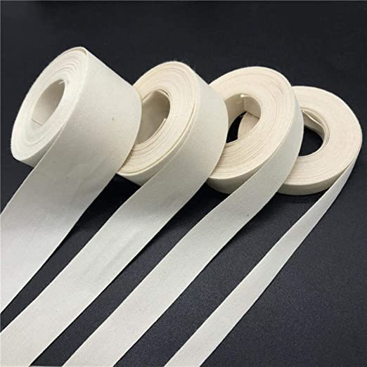 Cinta de algodón hecha a mano de 3 mm a 50 mm para decoración de ...
